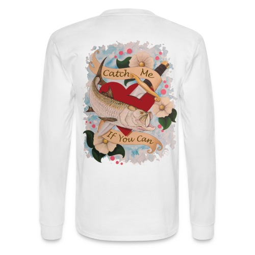 Men's Standard Catch Me Long Sleeve Shirt  - Men's Long Sleeve T-Shirt
