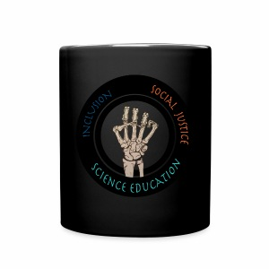 No specialty-Social Justice, Inclusion, and Science Education-black mug - Full Color Mug