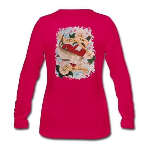 Women's Premium catch Me Long Sleeve Shirt - Women's Premium Long Sleeve T-Shirt