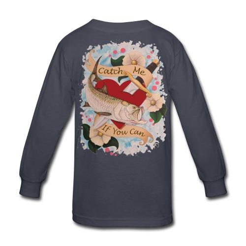 Kid's Standard Catch Me Long Sleeve Shirt - Kids' Long Sleeve T-Shirt
