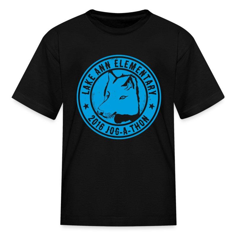 LakeAnn_JogAThonArt_9in - Kids' T-Shirt