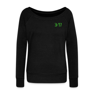 317 scoop  shirt  - Women's Wideneck Sweatshirt