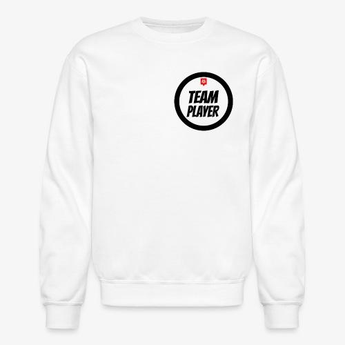MANS TEAM PLAYER (WHITE) - Crewneck Sweatshirt
