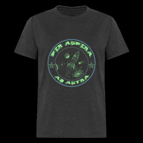 Per aspera -blue green- men - Men's T-Shirt