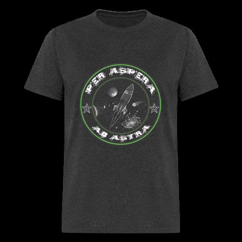 Per aspera -green white- men - Men's T-Shirt