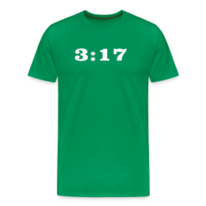 317 green shirt  - Men's Premium T-Shirt