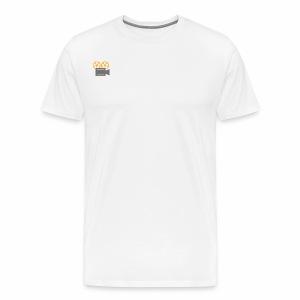 Fall Entertainment Men's T-Shirt - Mini-Logo, Right - Men's Premium T-Shirt