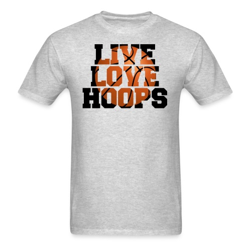 Live Love Hoops shirt - Men's T-Shirt