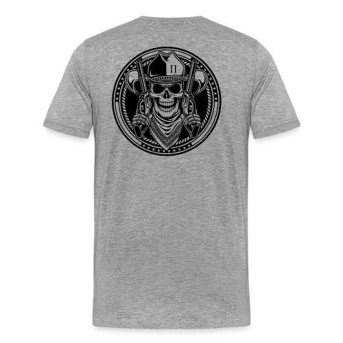 Heather Grey Shirt - Men's Premium T-Shirt