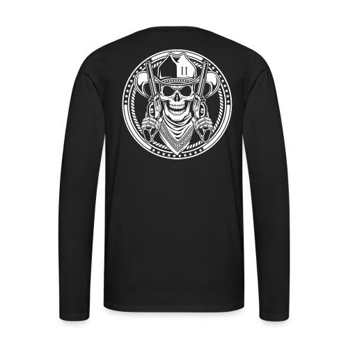 Black L/S Shirt - Men's Premium Long Sleeve T-Shirt