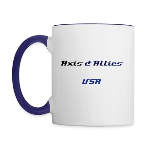 Allies USA Coffee Mug - Contrast Coffee Mug