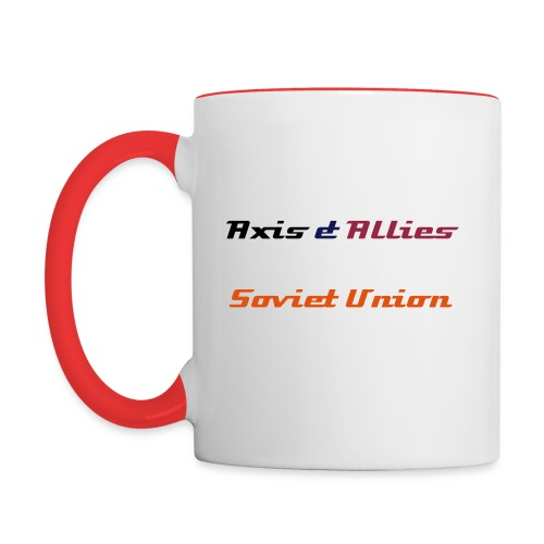 Allies Soviet Union Coffee Mug - Contrast Coffee Mug