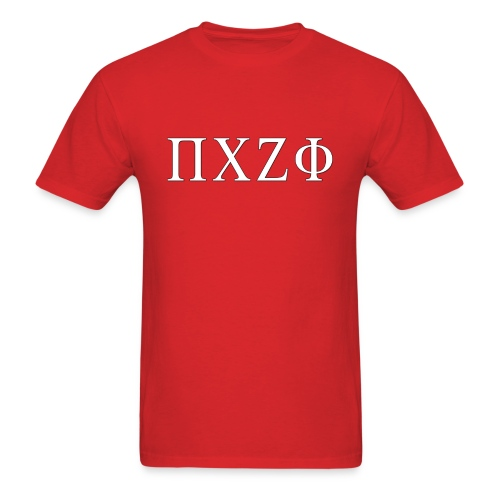Greek pczf(Red) - Men's T-Shirt