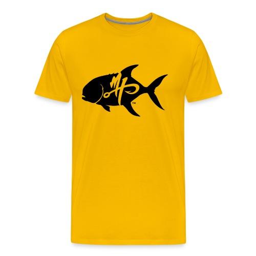 Men's Premium Pompano Logo T-Shirt - Men's Premium T-Shirt