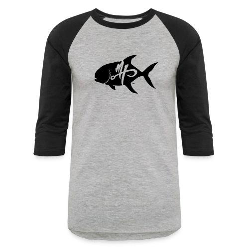 Men's Pompano Logo baseball Shirt - Baseball T-Shirt