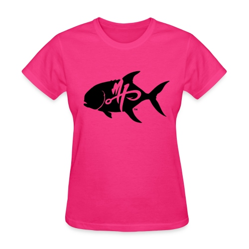 Women's Standard Pompano Logo T-Shirt - Women's T-Shirt