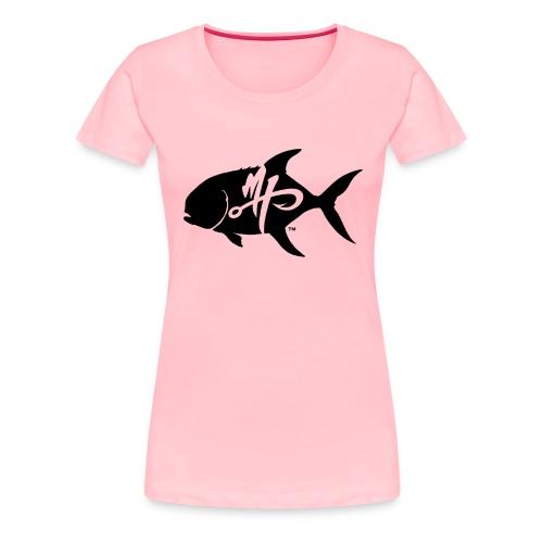 Women's Premium Pompano Logo T-Shirt - Women's Premium T-Shirt