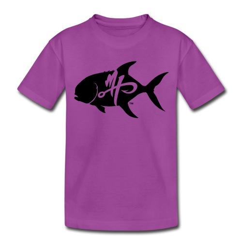 Kid's Premium Pompano Logo T-Shirt - Kids' Premium T-Shirt