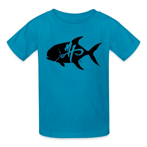 Kid's Standard Pompano Logo T-Shirt - Kids' T-Shirt