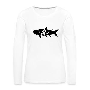 Women's Premium Tarpon Logo Long Sleeve Shirt - Women's Premium Long Sleeve T-Shirt