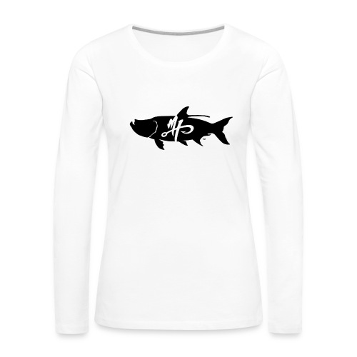 Women's Premium Tarpon Logo Long Sleeve Shirt - Women's Premium Long Sleeve T-Shirt