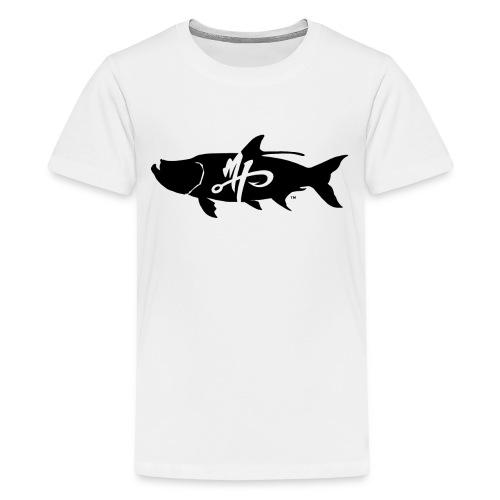 Kid's Premium Tarpon Logo T-Shirt - Kids' Premium T-Shirt