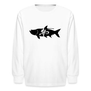 Kid's Standard Tarpon Logo Long Sleeve Shirt - Kids' Long Sleeve T-Shirt
