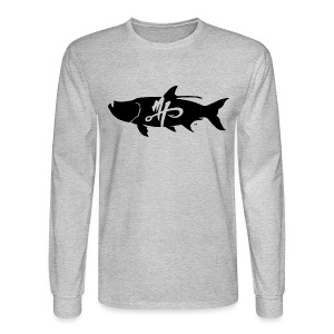 Men's Standard Tarpon Logo Long Sleeve Shirt - Men's Long Sleeve T-Shirt