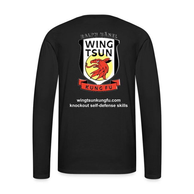 Wing Tsun Kung Fu instructor (Long sleeve T-shirt, men)