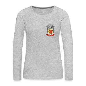 Wing Tsun Kung Fu student (Long sleeve T-shirt, women) - Women's Premium Long Sleeve T-Shirt