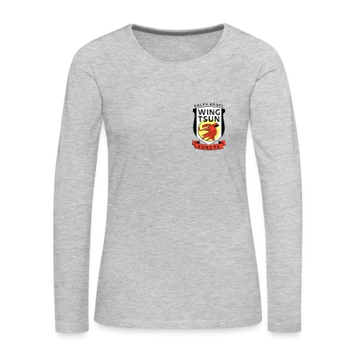 Wing Tsun Kung Fu student (Long sleeve T-shirt, women) - Women's Premium Long Sleeve T-Shirt