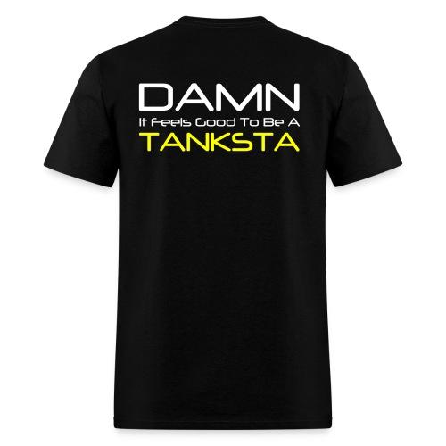 RS LOGO ON FRONT - TANKSTA ON BACK - MENS - Men's T-Shirt