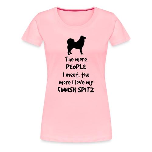 The more... Women's Premium T-Shirt - Women's Premium T-Shirt