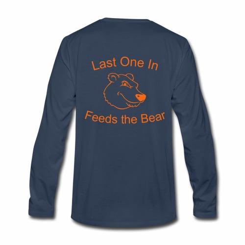 Bear Bait Racing Long Sleeve Tee - Men's Premium Long Sleeve T-Shirt