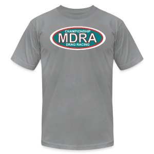 MDRA - The Official Shirt of the Mag Drag Racing Association. - Men's Fine Jersey T-Shirt