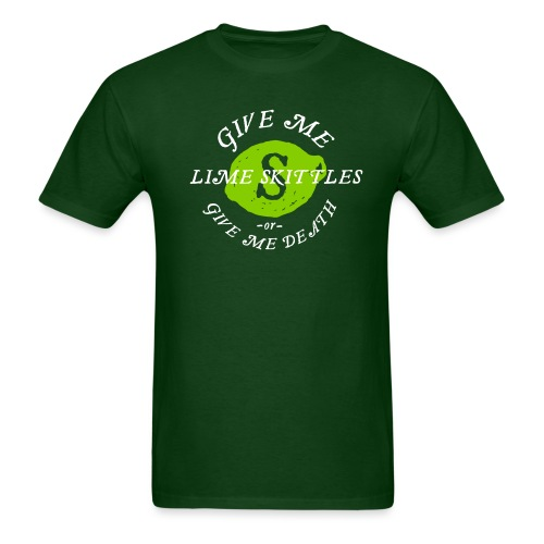 [lime-skittles-or-death] - Men's T-Shirt
