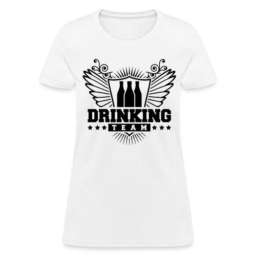 DRINKING TEAM - Women's T-Shirt