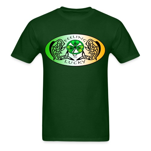 Men's Standard Feeling Lucky T-Shirt - Men's T-Shirt