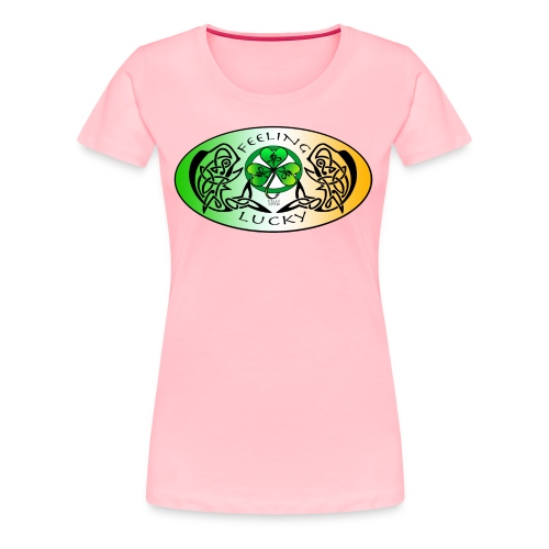 Women's premium Feeling Lucky T-Shirt - Women's Premium T-Shirt