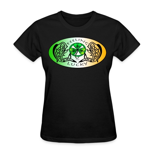 Women's Standard Feeling Lucky T-Shirt - Women's T-Shirt