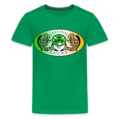 Kid's Premium Feeling Lucky T-Shirt - Kids' Premium T-Shirt