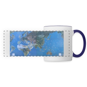 AnA 1940 Map Coffee Mug - Panoramic Mug