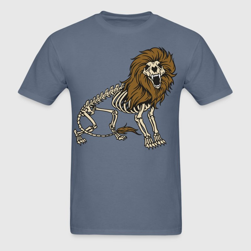 Lion Skeleton - Men's T-Shirt
