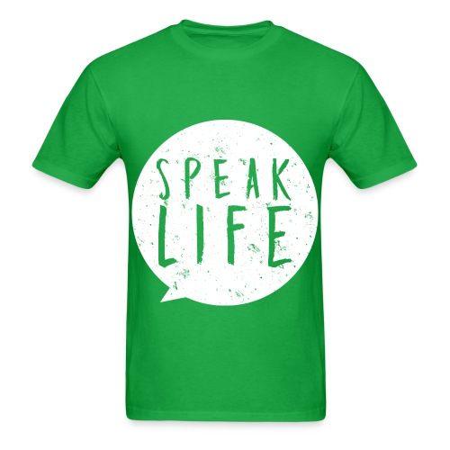 Speak Life Design - Men's T-Shirt