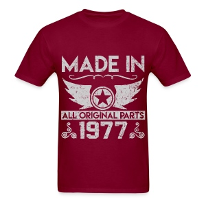 made in 1977 22.png T-Shirts - Men's T-Shirt