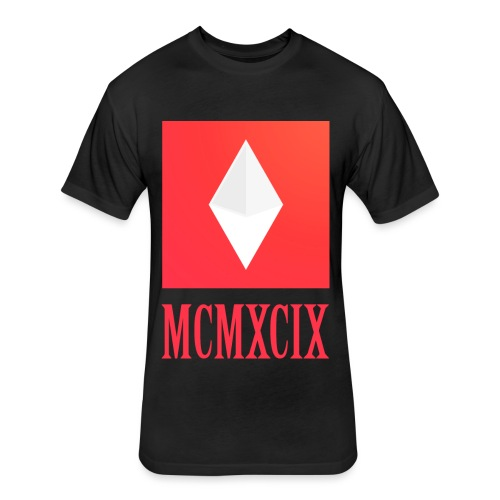 MCMXCIX - Fitted Cotton/Poly T-Shirt by Next Level