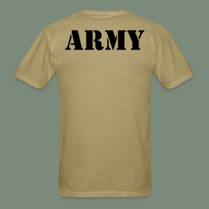 Army Khaki Brown undershirt - Men's T-Shirt