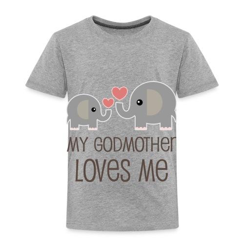My Grandmother Loves Me - Toddler Premium T-Shirt