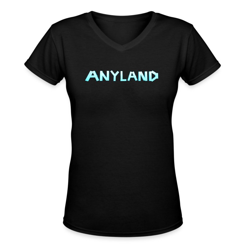 Anyland Gal V-Neck Shirt - Women's V-Neck T-Shirt