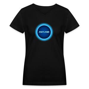 Anyland Guy V-Neck Shirt - Women's V-Neck T-Shirt